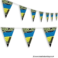 Ukraine Football Bunting - Crowd Design