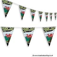 Wales Football Bunting - Crowd Design