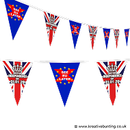 British Independence Day Bunting