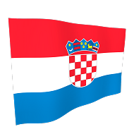 Croatia National Flag - 5ft x 3ft