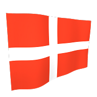 Denmark Flag - 5ft x 3ft