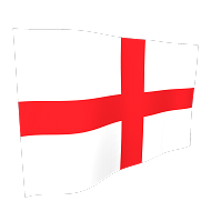 England St Georges Flag - 5ft x 3ft