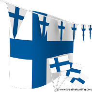 Finland Bunting and Flags Bundle