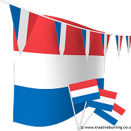 Netherlands Bunting and Flags Bundle