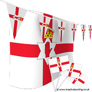 Northern Ireland Bunting and Flags Bundle