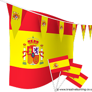 Spain Bunting and Flags Bundle