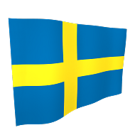 Sweden Flag - 5ft x 3ft