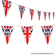 UK Independence Day Bunting