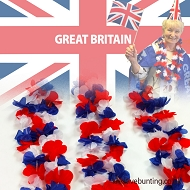 Union Jack / Great Britain Leis / Garlands