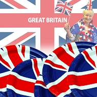 Union Jack / Great Britain Party Plates