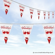 St Valentines Day Bunting