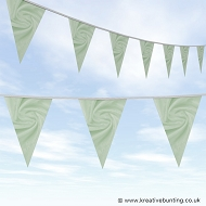 Wedding Day Bunting - Velvet Cool Mint
