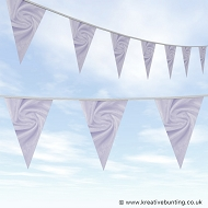 Wedding Day Bunting - Velvet Ice Violet