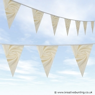 Wedding Day Bunting - Velvet Summer Cream