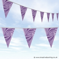 Wedding Day Bunting - Velvet Violet