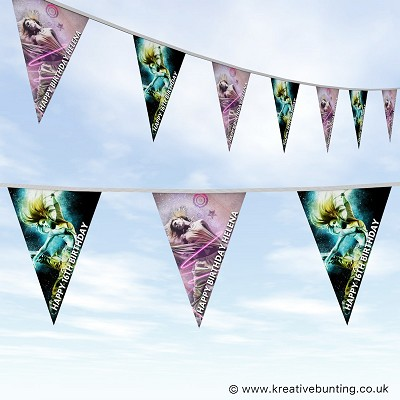 Personalised Birthday Bunting - Teenager Dance Design