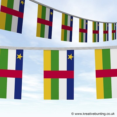 Central Africa Republic bunting Image