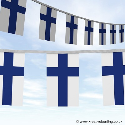 Finland bunting image