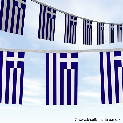 Greece bunting image