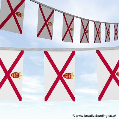 Jersey bunting image