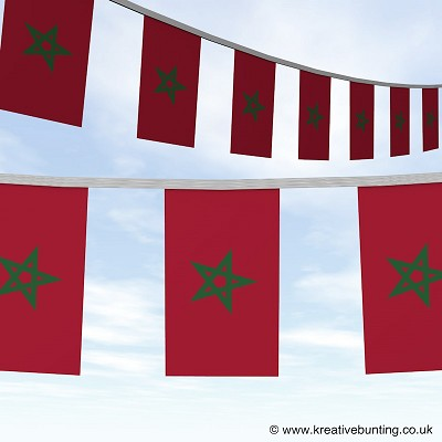 Morocco bunting