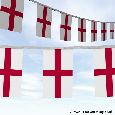 England St George Cross bunting