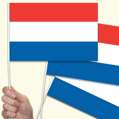 Netherlands hand waving flag