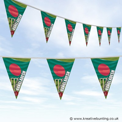 Cricket World Cup Bunting - Bangladesh