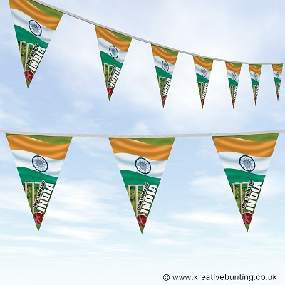 Cricket World Cup Bunting - India