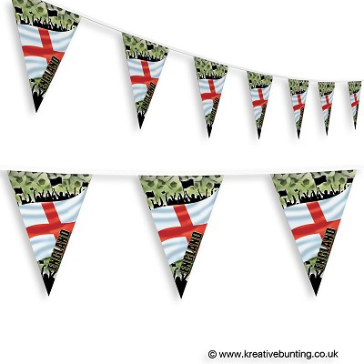 England Football Bunting - Crowd Design