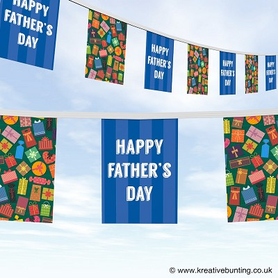 Fathers day fantastic presents bunting