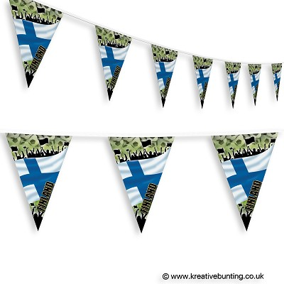 Finland Football Bunting - Crowd Design