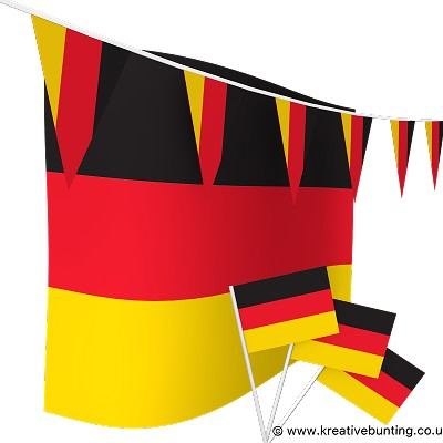 Germany Bunting & Flags Bundle