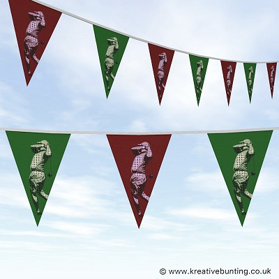 Golf Bunting - Abstract Design 01