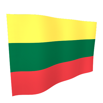 Lithuania Flag 5ftx3ft