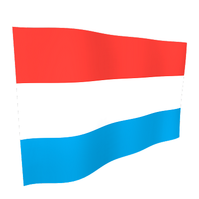 Luxembourg Flag 5ftx3ft