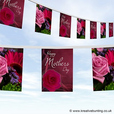 Mothers day bunting design 2