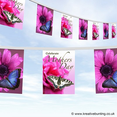 Mothers day bunting - design 4
