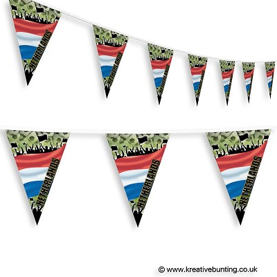 Netherlands Football Bunting - Crowd Design