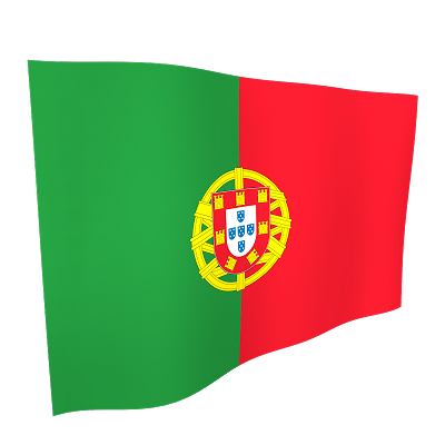 Portugal Flag 5ftx3ft