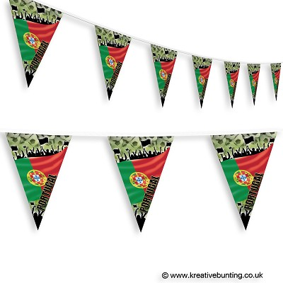 Portugal Football Bunting - Crowd Design