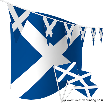 Scotland Bunting & Flags Bundle