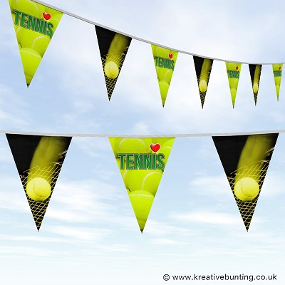 Tennis Bunting - Love Tennis Design