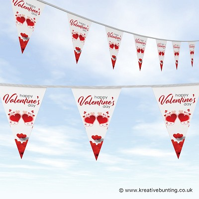 St Valentines Day Bunting Design 4