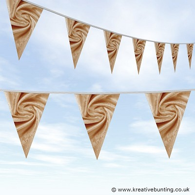 Wedding Day Bunting - Velvet Bronze